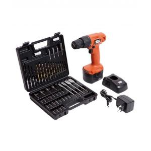 Black & Decker 12V CD121K50 Cordless Drill & Driver With 50...