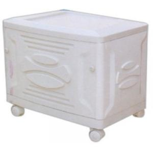 Sun Power White Smile Trolley For Inverter And Battery, Weight: 4 Kg