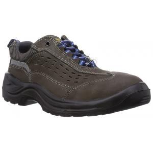 Wortec Nicos Steel Toe Grey Safety Shoes, 111037, Size: 9