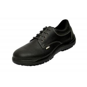 E Volt 82218-Oxy Steel Toe Black Safety Shoes, Size: 10