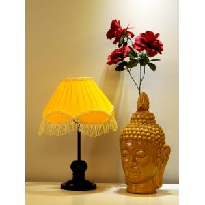 Tucasa Table Lamp With Fringe Shade, LG-360, Weight: 550 G