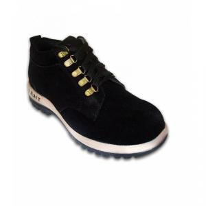 JK Steel TALENTL Steel Toe Black Safety Shoes, Size: 10