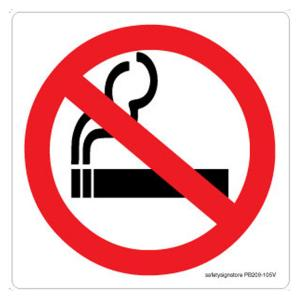 Safety Sign Store No Smoking-Graphic Sign Board, PB209-210AL-01