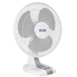 Luminous 400 mm Mojo Fast Selling Milk White Table Fan, Speed: 1350 rpm