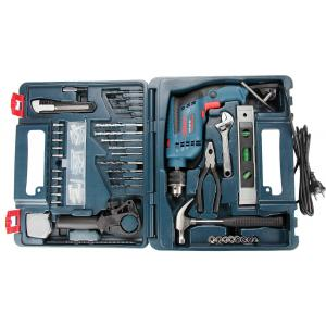 Bosch Professional Impact Drill Kit, GSB 600 RE