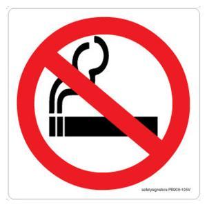 Safety Sign Store No Smoking-Graphic Sign Board, PB209-210V-01