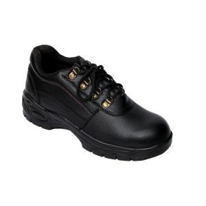 Ramzee RMZ04 Steel Toe Black Safety Shoes, Size: 10