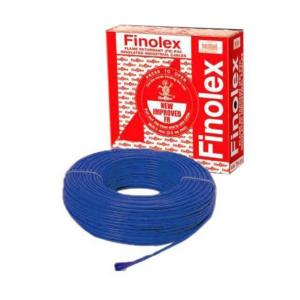 Finolex 90m Blue Flame Retardant PVC Insulated Industrial Cable, 10303