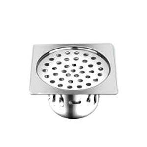 Ebax Amro Small Satin Sink Drain, Size: 5x5 Inch (Pack Of 6)