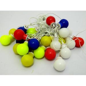 Tucasa Multi Colour Ball String Light, DW-154