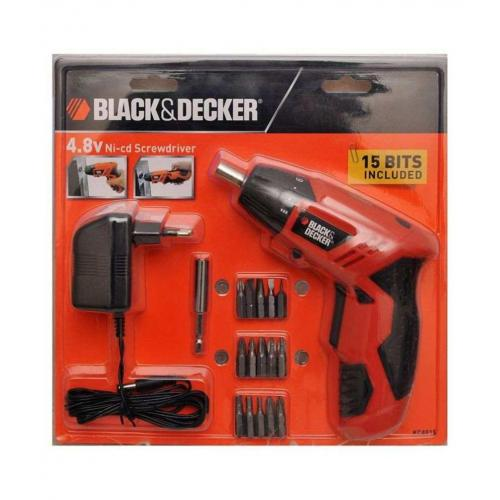 buy black decker kc4815 battery powered cordless screwdriver set at best price in india. Black Bedroom Furniture Sets. Home Design Ideas