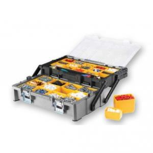 JCB Cantilever Organizer Tool Box with 2 Trays, 22025053