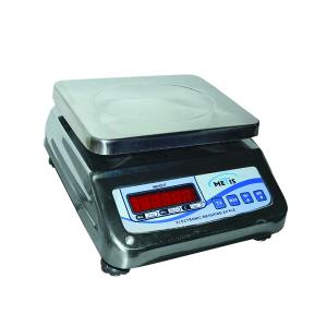 Metis Stainless Steel Counter Weighing Scale, Weighing Capacity: 15 kg