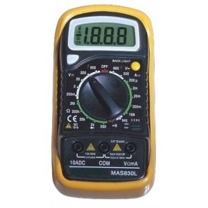 Vartech Digital Multimeter (Basic), MAS 830 L
