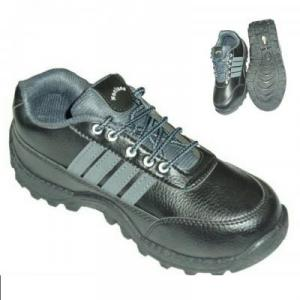 Volvo Nucleus Steel Toe Black & Grey Safety Shoes