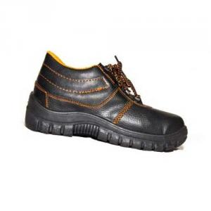 Metro Polo Steel Toe Black Safety Shoes