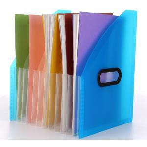 Solo Desktop Expanding Document Holder, FS401, Size: A4, Colour: Frosted Blue