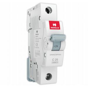 havells euro ii 25a single pole c curve mcb dhmgcspf025