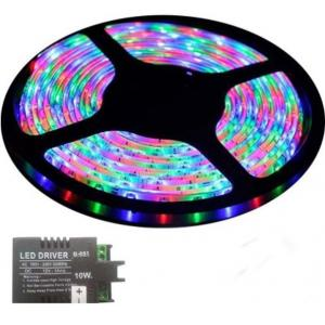 VRCT 3W RGB Decorative Wall LED Strip Light With Adaptor, DL-588