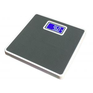 Weightrolux Digital Personal Body Weight Electronic Bathroom Weighing Scale, Black-Square
