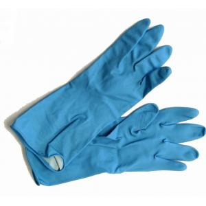 Hand Care Blue Rubber Safety Hand Gloves (Pack Of 3)