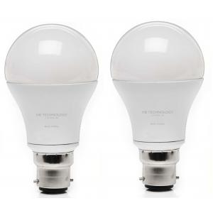 HB Technology 9W White LED Bulbs, (Pack Of 2)