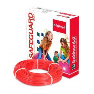 Goldmedal 90m 1 Sq mm Red FR PVC Wire