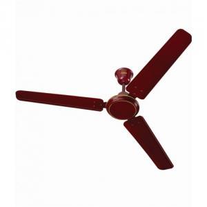 Surya Power Plus 48 Inch Brown Ceiling Fan, Sweep: 1200 mm, 68W, 340rpm