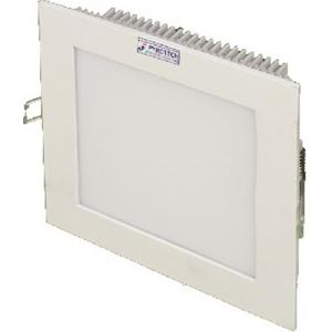 Pyrotech 12W Cool White Square LED Flat Panel Light, PE13DLW12OB