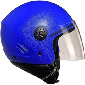 Super Add K10 Open Face Blue Helmet
