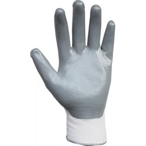 Proteger Nanoflex Grey Nitrile Gloves, Size: L (Pack Of 12)