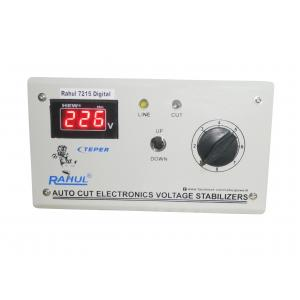 Rahul 7215 C Digital 0.5 kVA Smoke Gray Autocut Stabilizer