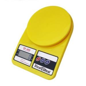 Stealodeal 7 Kg Yellow Electronic Kitchen Weighing Scale, SF-400