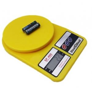 Stealodeal 5 Kg Yellow Electronic Kitchen Weighing Scale With...