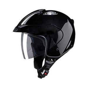 Studds KS1 Metro Black Open Face Helmet, Size: Large
