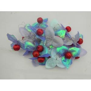 Tucasa Shiny Blue Flower String Light, DW-347