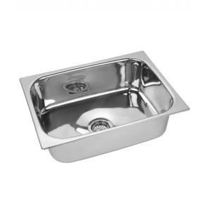 SS Silverware Stainless Steel Kitchen Sink, Dimensions: 22x18x7 inch