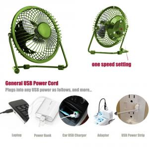 Kawachi K41-Green Portable Desktop Cooling USB Mini Fan For Computer Laptop