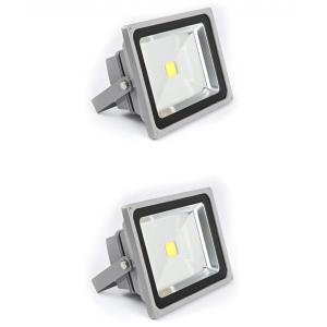 Best Deal 50W Yellow Aluminium LED Flood Lights (Pack Of 2)