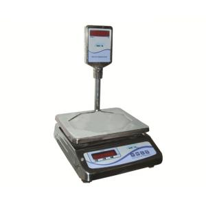 Metis Stainless Steel Counter Weighing Scale, Weighing Capacity: 30 Kg