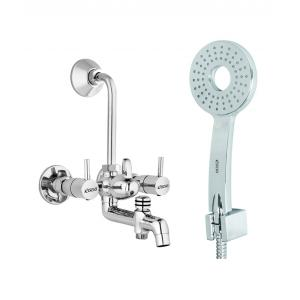 Rocio Pearl 3 In 1 Uno Water Mixer With L Bend And Hand Shower...