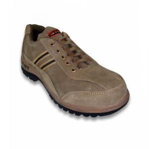 JK Steel TALENTBEG Steel Toe Beige Safety Shoes, Size: 9
