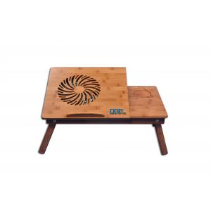 DGB Murray Wooden Laptop Table with Cooling Fan