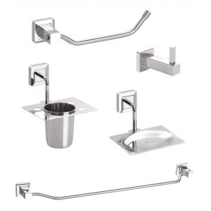 Doyours MorDuero Series Stainless Steel 5 Pieces Bathroom Accessories Set, DY-0696