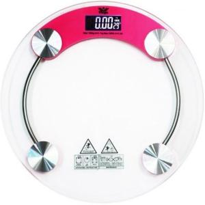 Stealodeal RW-150 Pink Round Digital Weighing Scale, Capacity: 150 kg