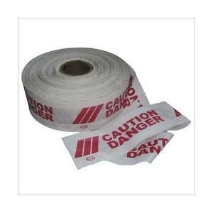 Safari White Caution Tape, Length: 400 m