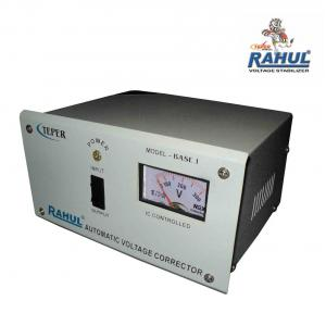 Rahul Base-1 A 1kVA/4A 140-290V 3 Step 1 Computer/Washing Machine/Refrigerator 90 to 290 Litre Automatic Stabilizer