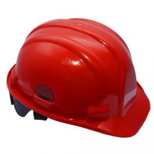 Prima Red Ratchet Safety Helmet, PSH-03