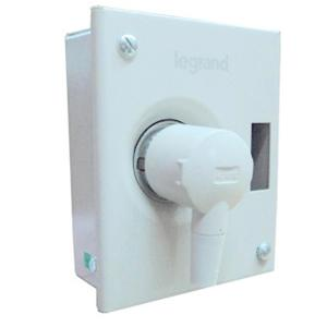 Legrand Ekinoxe SP 20A Metra Plug and Socket Distribution Board, 6078 41