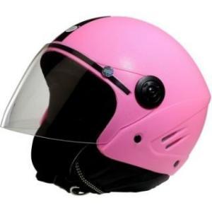 Super Add K10 Open Face Pink Helmet